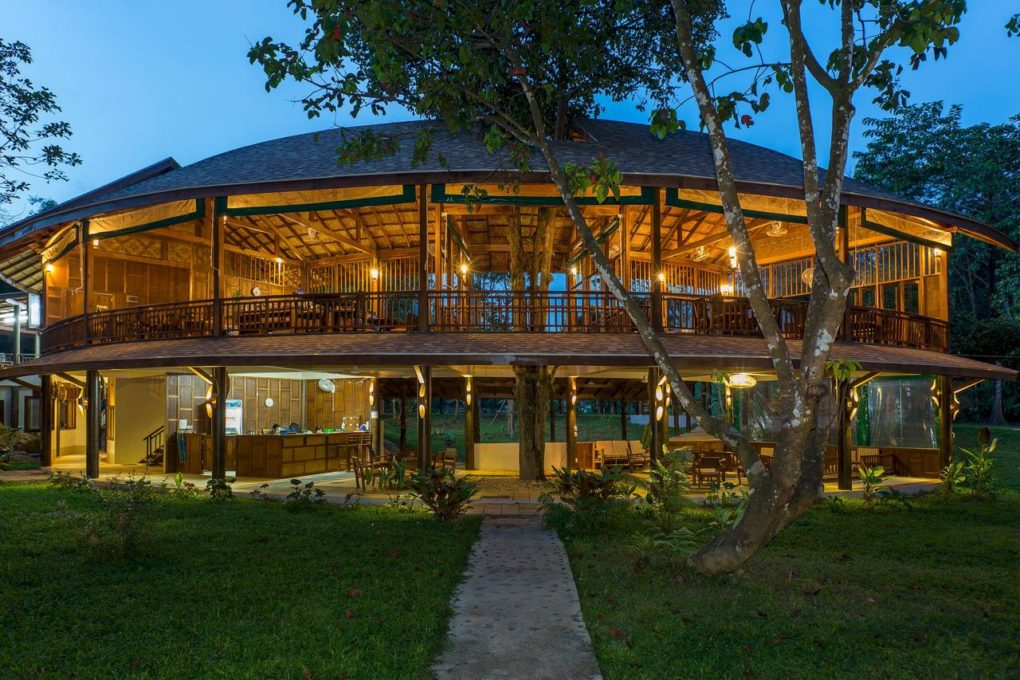 Het restaurant van Our Jungle Camp