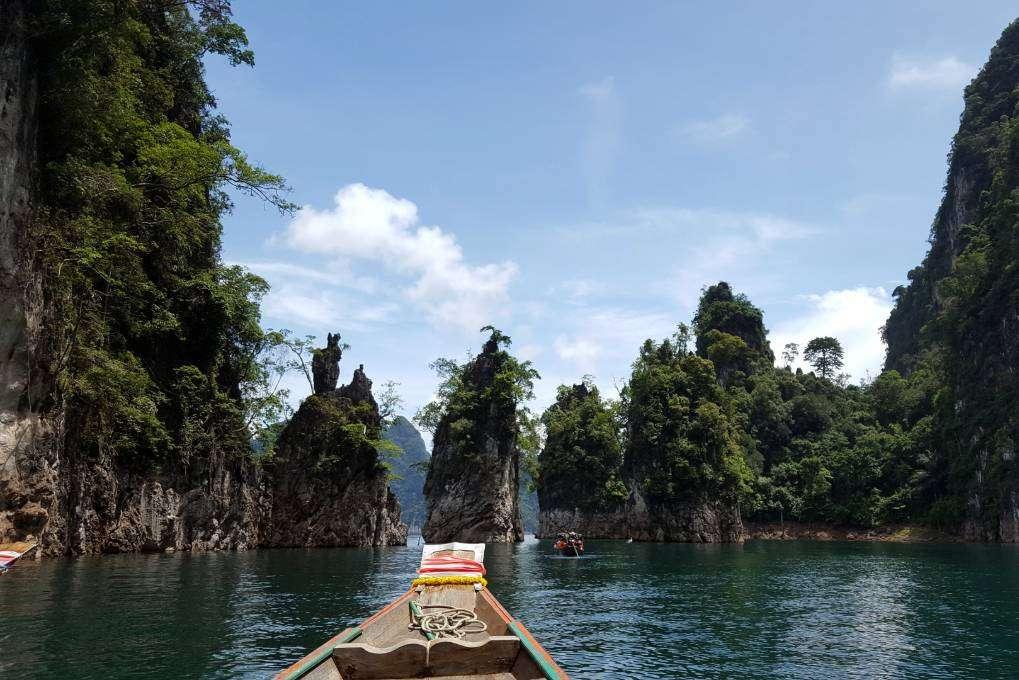 cheow Lan Lake 3 bijzondere rotsen