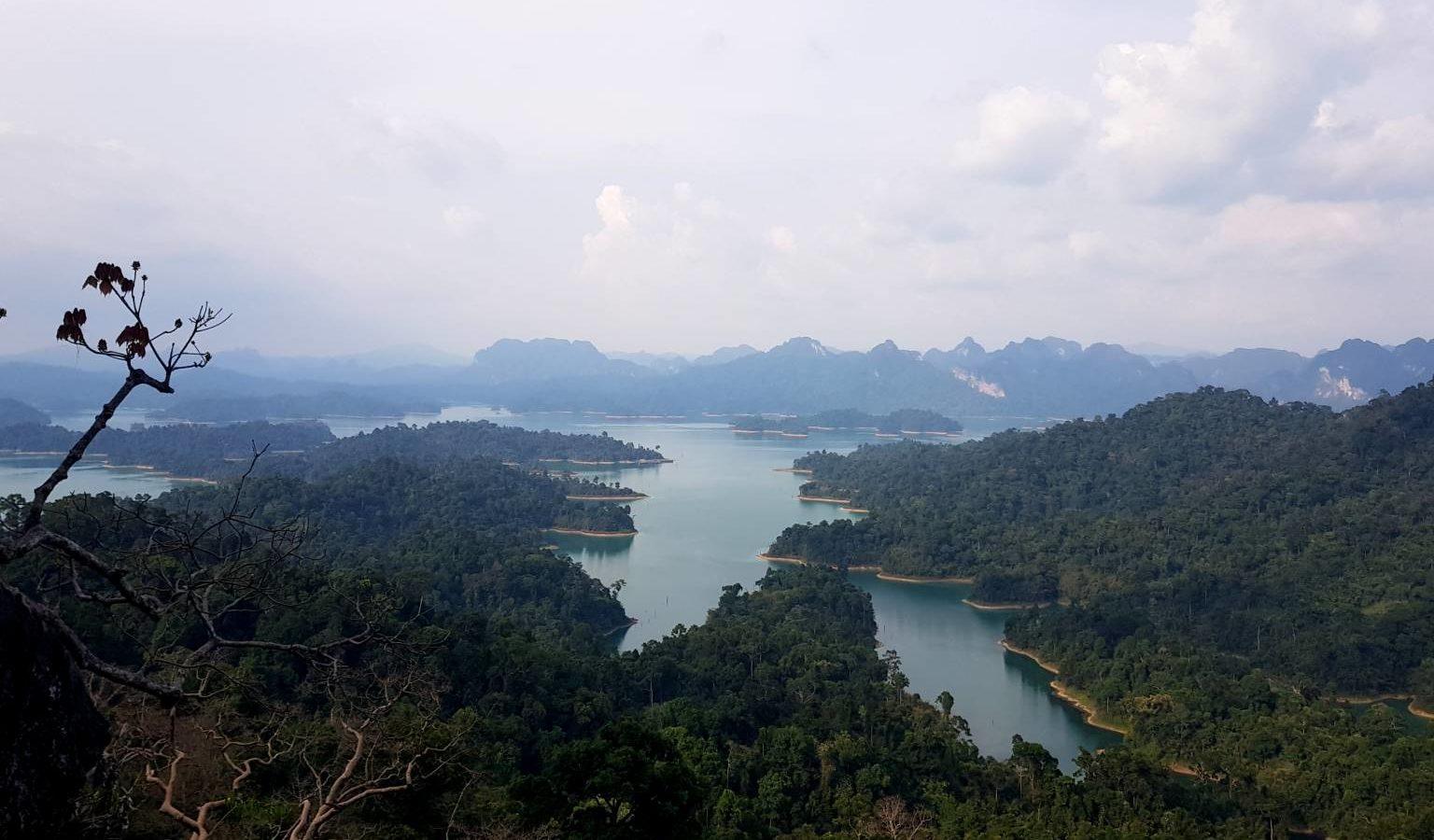 Viewpoint Cheow Lan Lake