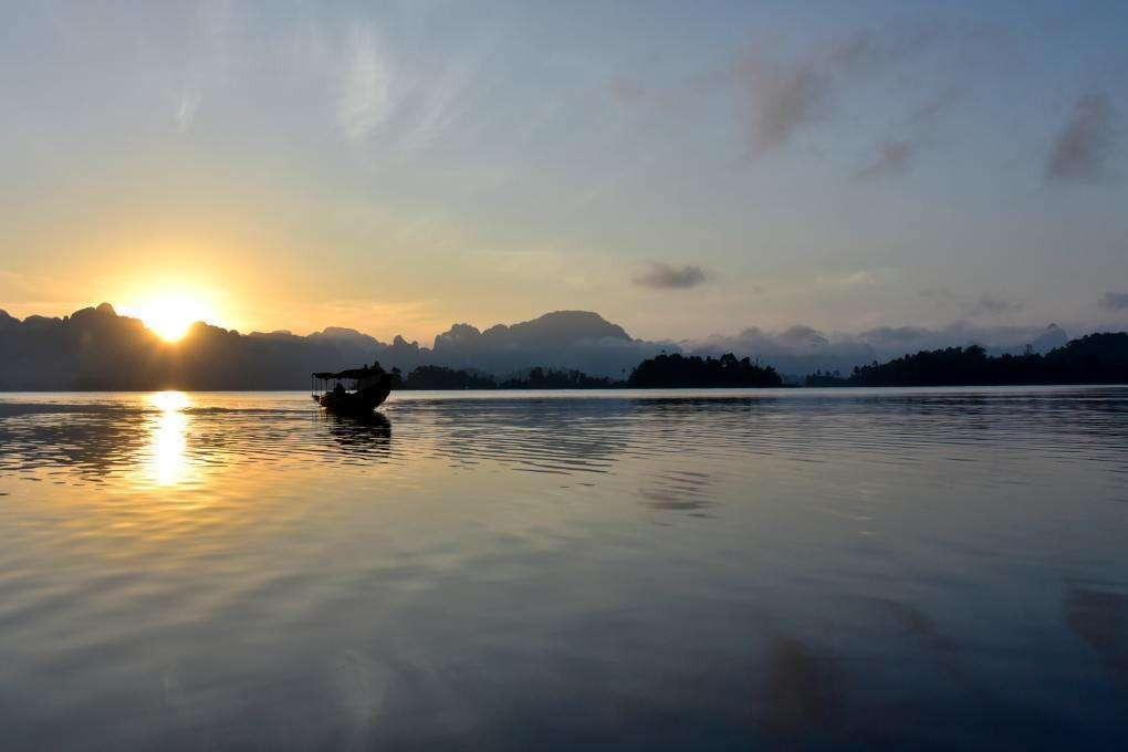 Ochtend Safari Cheow Lan Lake