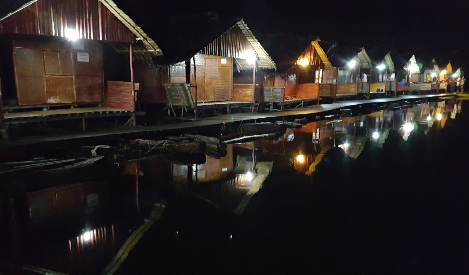 Night on Cheow Lan Lake, Khao Sok