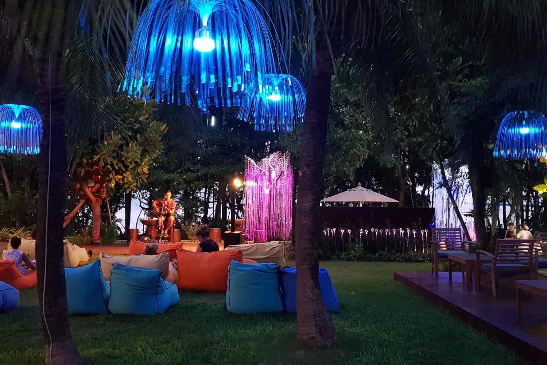De tuin van het Avatar Railay Resort