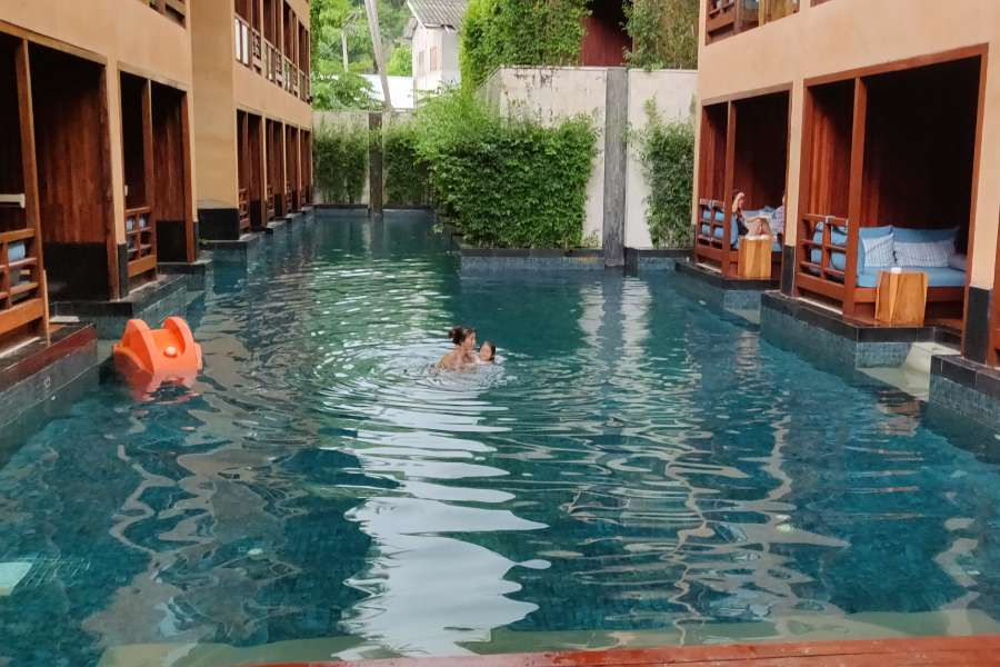 The pool of the Avatar Railay Resort