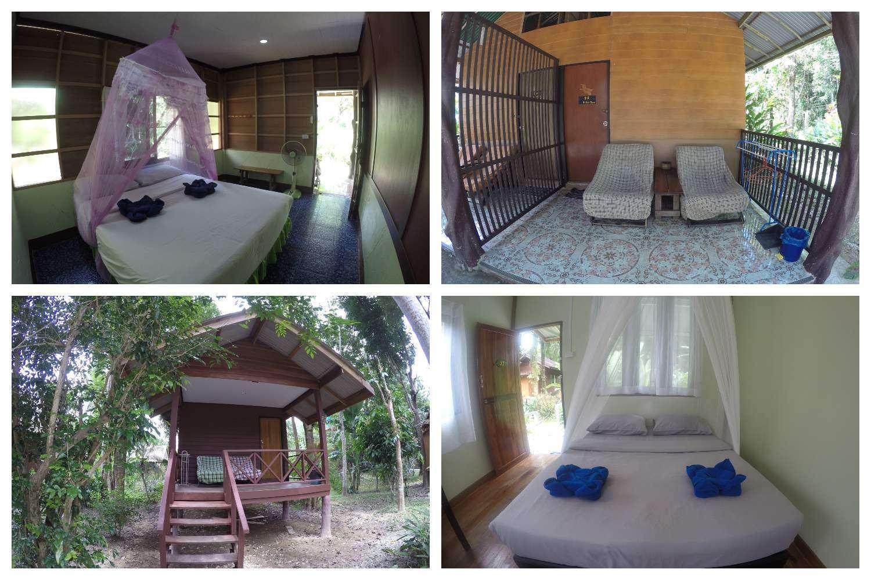 De goedkopere kamers van Khao Sok Morning Mist resort