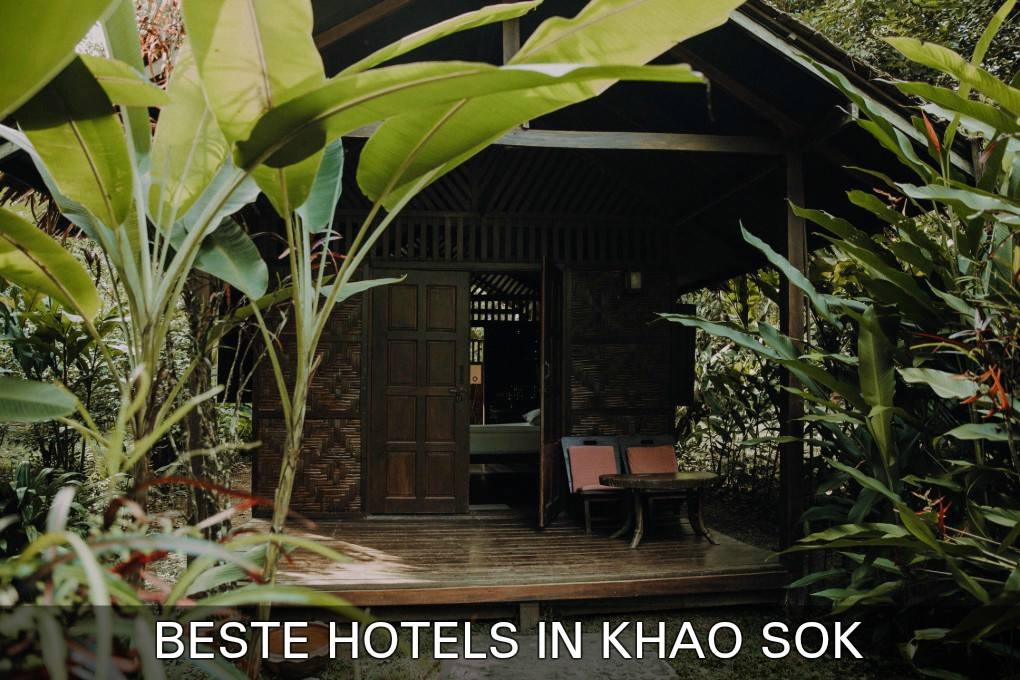 Bungalow in jungle, Klik hier voor de beste hotels in Khao Sok, Thailand