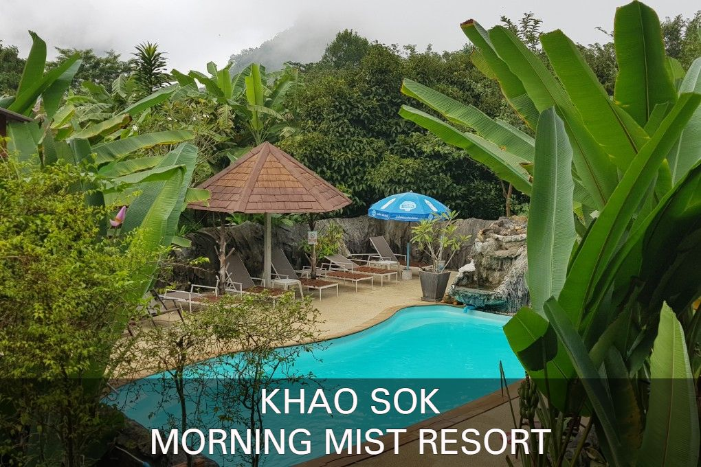 Photo with link, Click here if you want to know everything about the Morning Mist Resort in Khao Sok, Thailand.