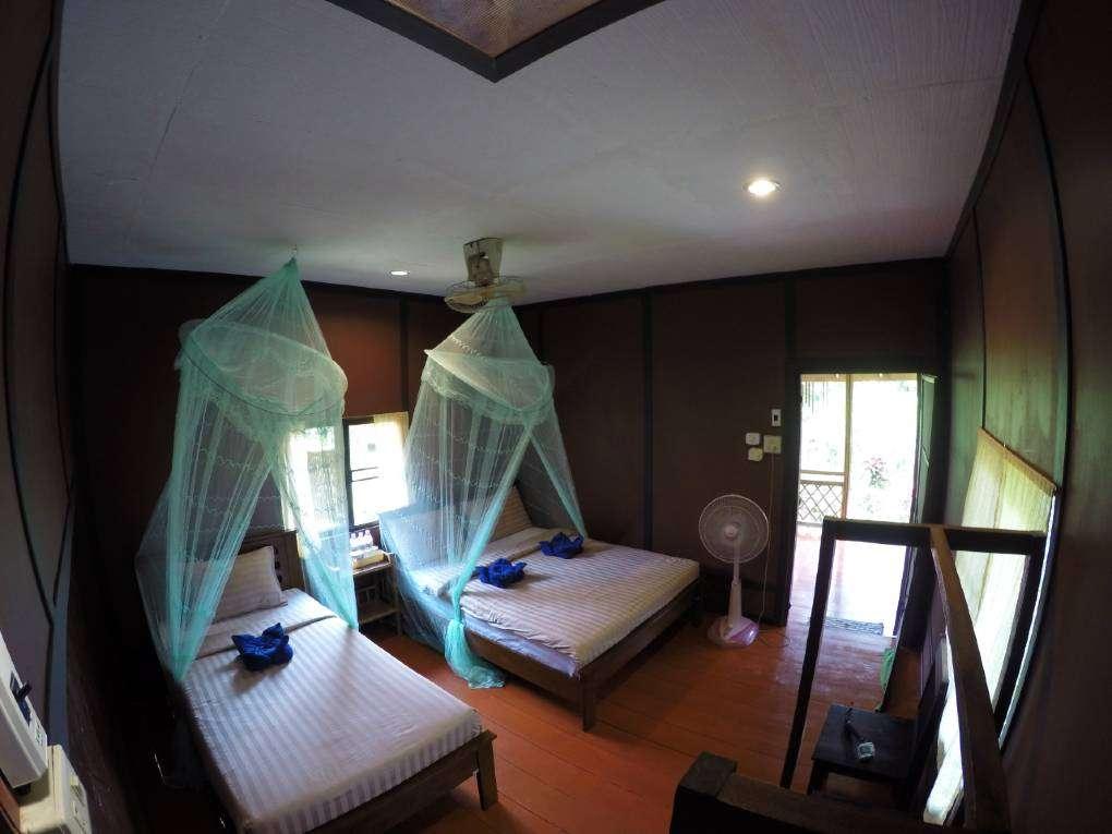 De familie bungalow van Khao Sok Morning Mist Resort