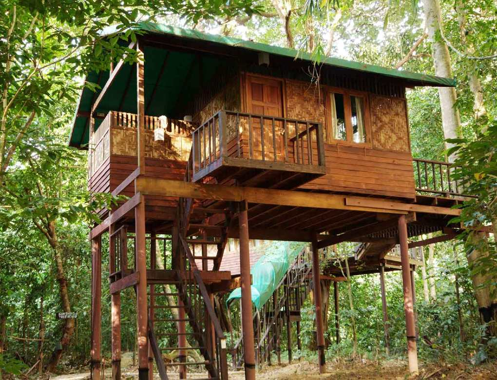 Our Jungle House boomhut in Khao Sok