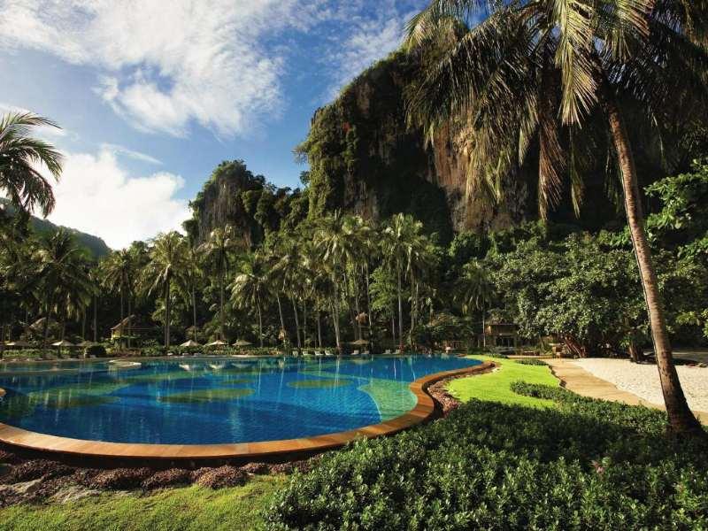 het zwembad van Rayavadee