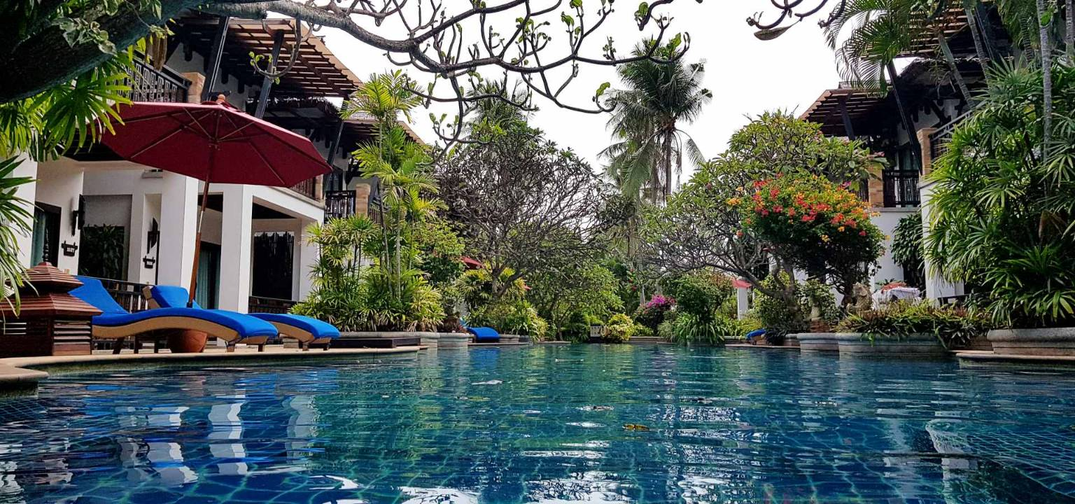 Zwembad Railay Village Resort