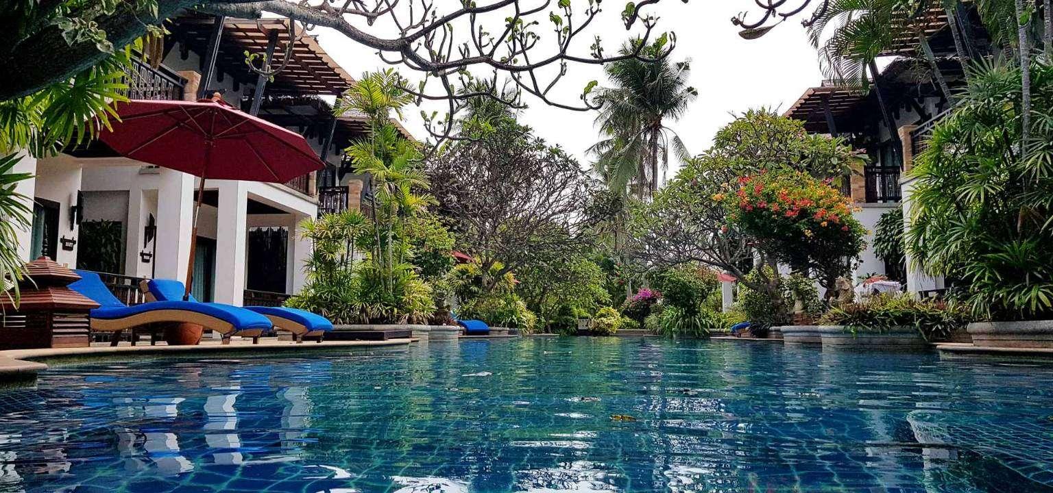 Zwembad Railay Village Resort