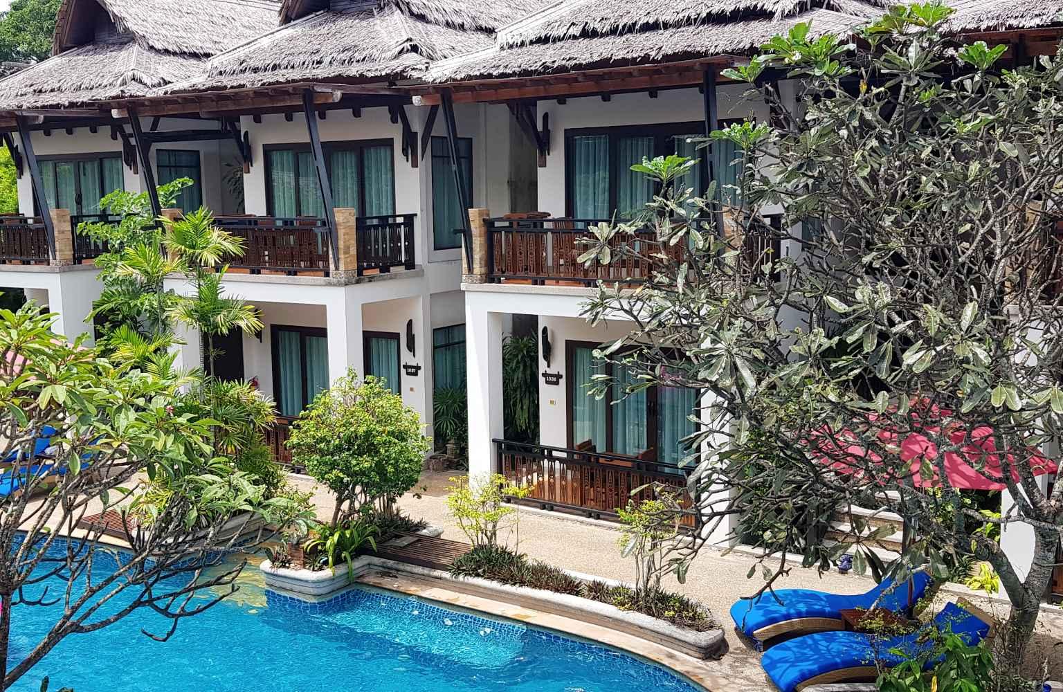 Deluxe Pool Villa, Railay Village Resort Krabi