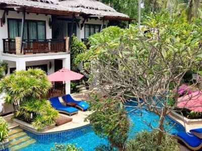 Railay Village Resort, Kamers Aan Het Zwembad.