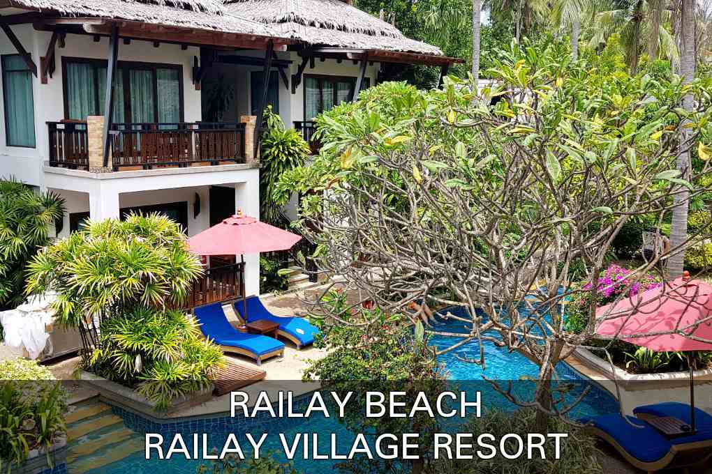 Click here if you want to read our review about the Railay Village Resort