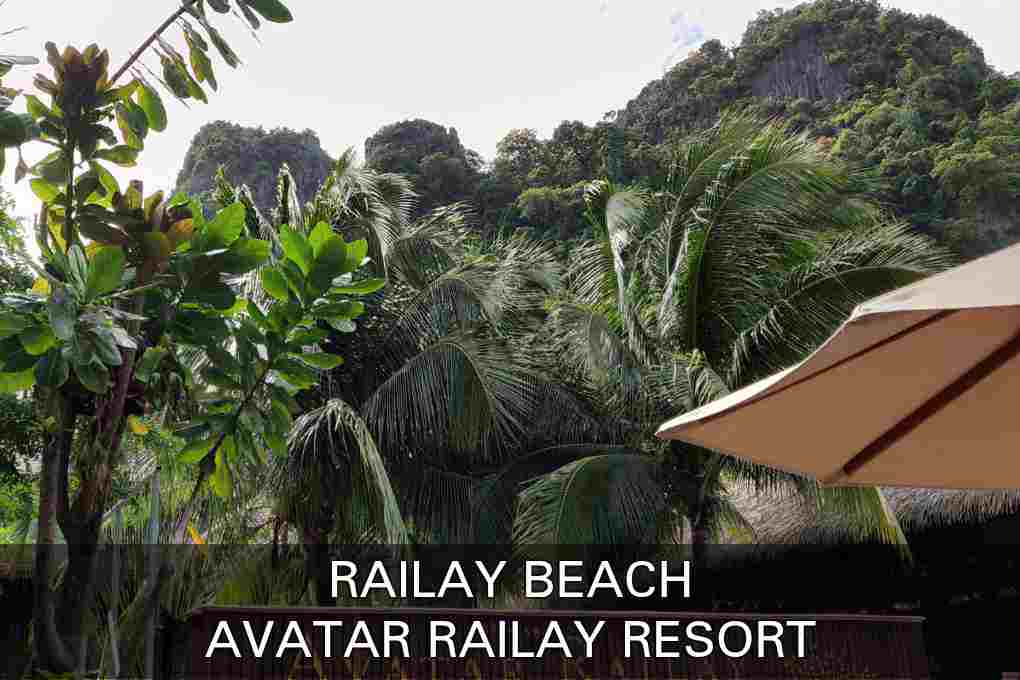 Click here if you want to read our review about the Avatar Railay Resort