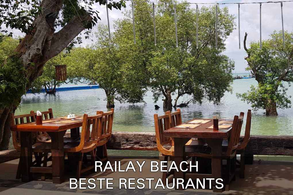 Klik hier als je de beste restaurants in Railay Beach wilt zien