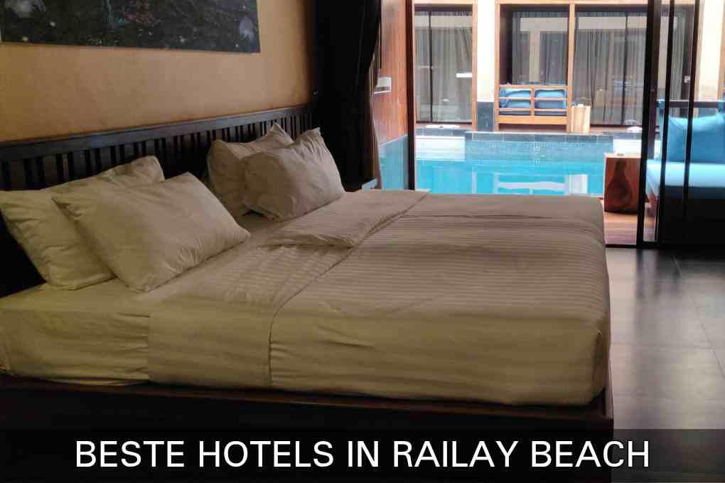 Klik hier als je de beste hotels in Railay Beach wilt zien