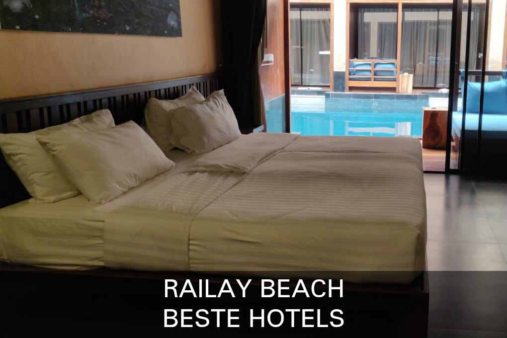 Click here if you want to see the best hotels in Railay Beach