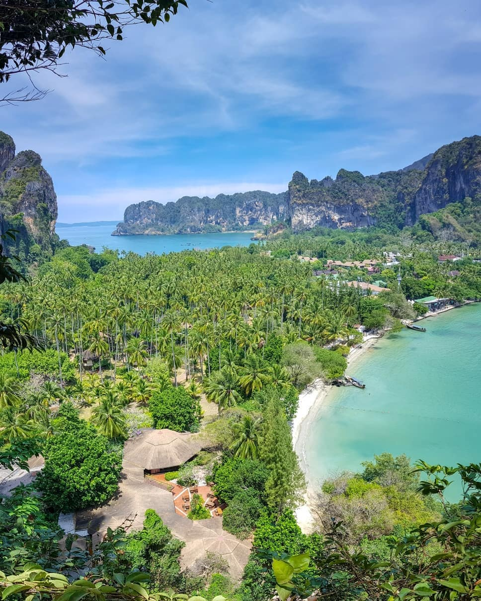 Railay East vanaf de princess viewpoint