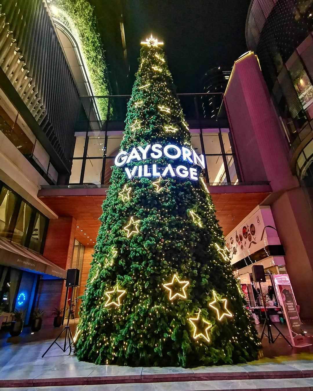 Christmas tree at Gaysorn Village in Bangkok
