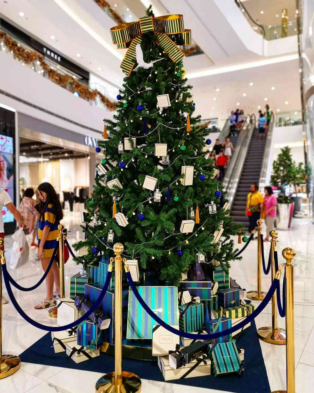 Kersboom in Bangkok
