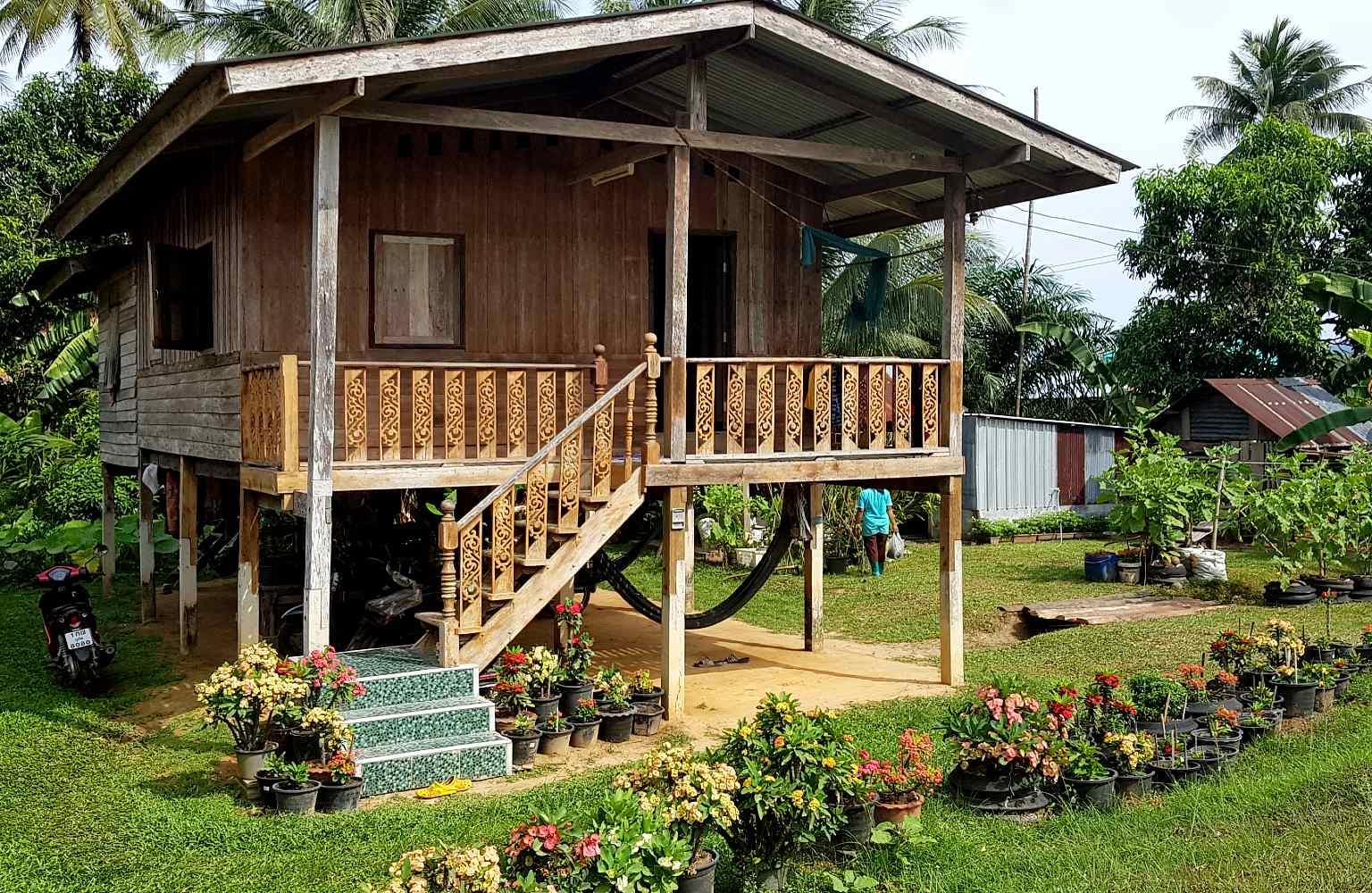 Koh Yao Yai, authentiek houten huis