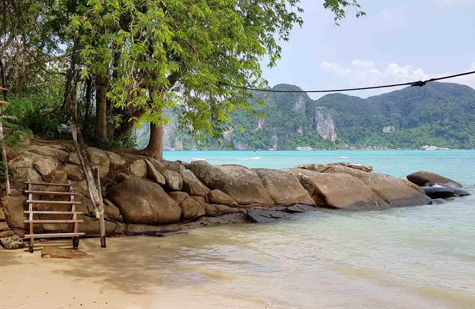 Beach on the way to Long Beach, Koh Phi Phi