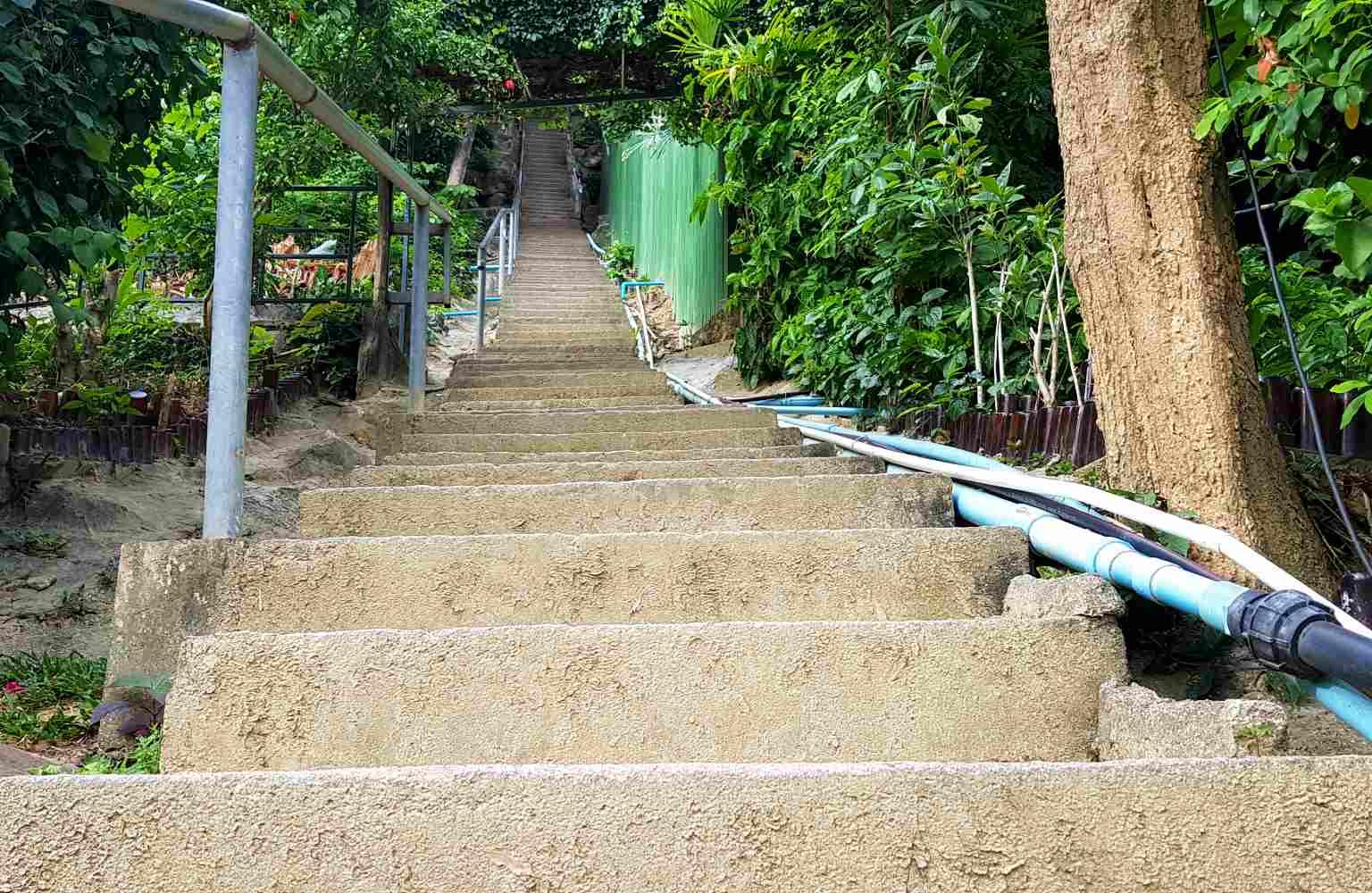 Trap naar Viewpoint op Phi Phi