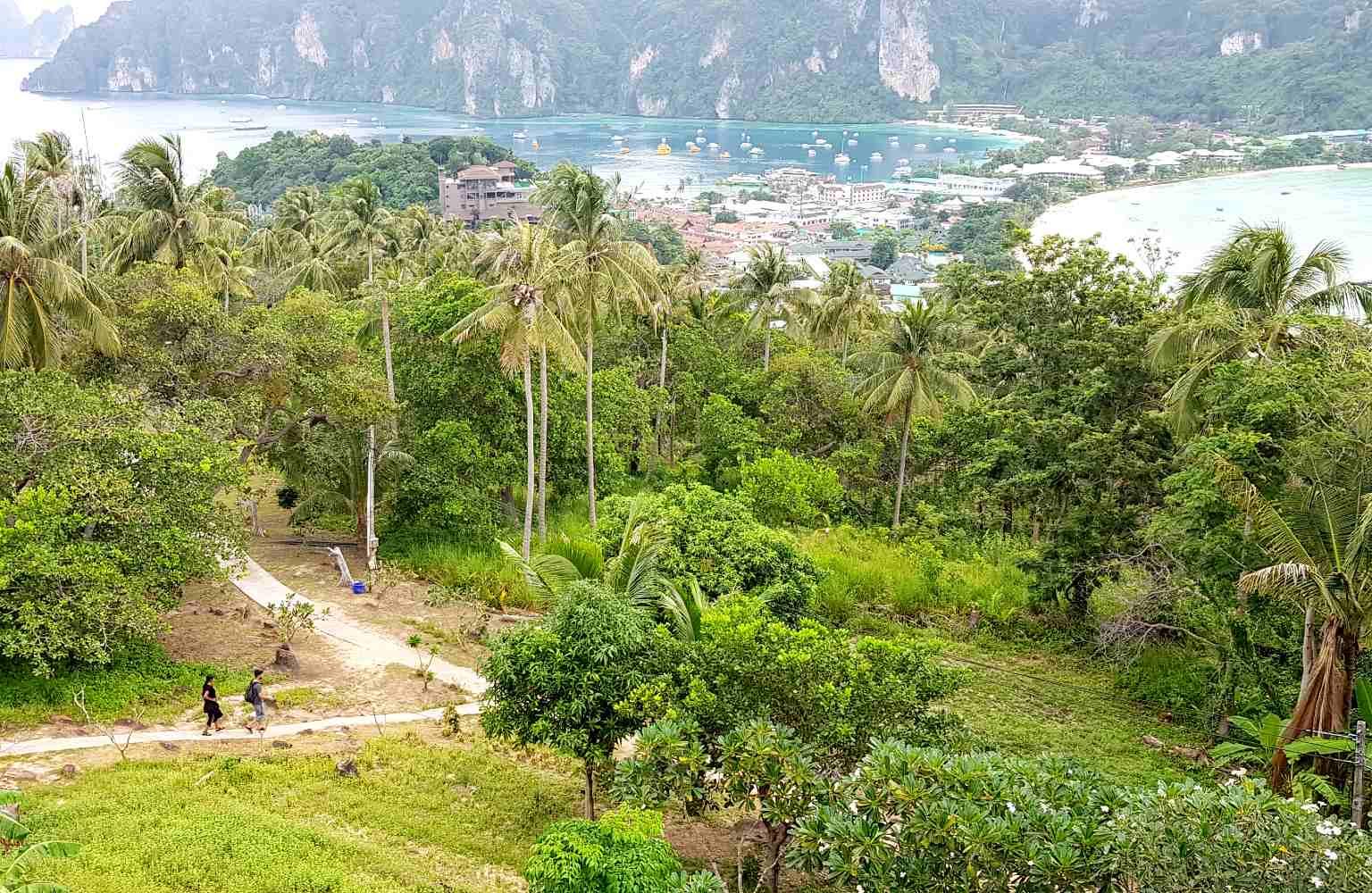 Viewpoint, weg omhoog naar