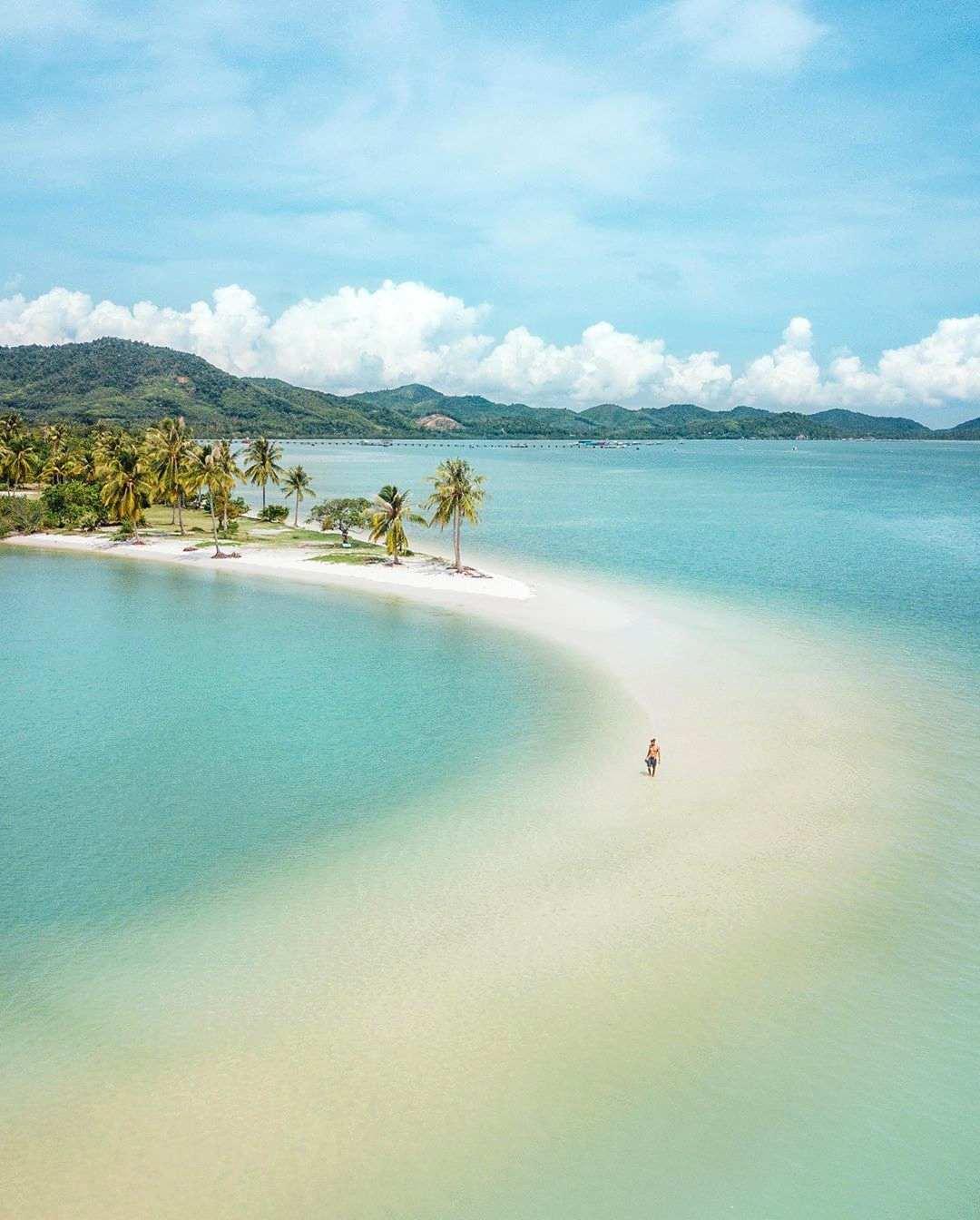 Koh Yao Yai, Leam Had Beach, zandbank
