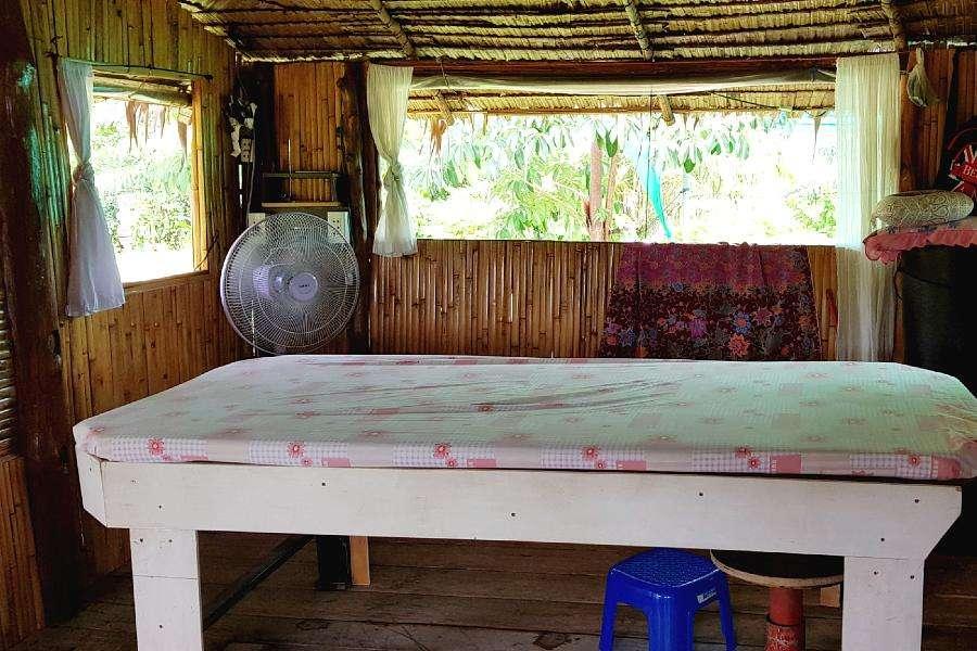 Koh Yao Yai Massage table by Dr. Saad