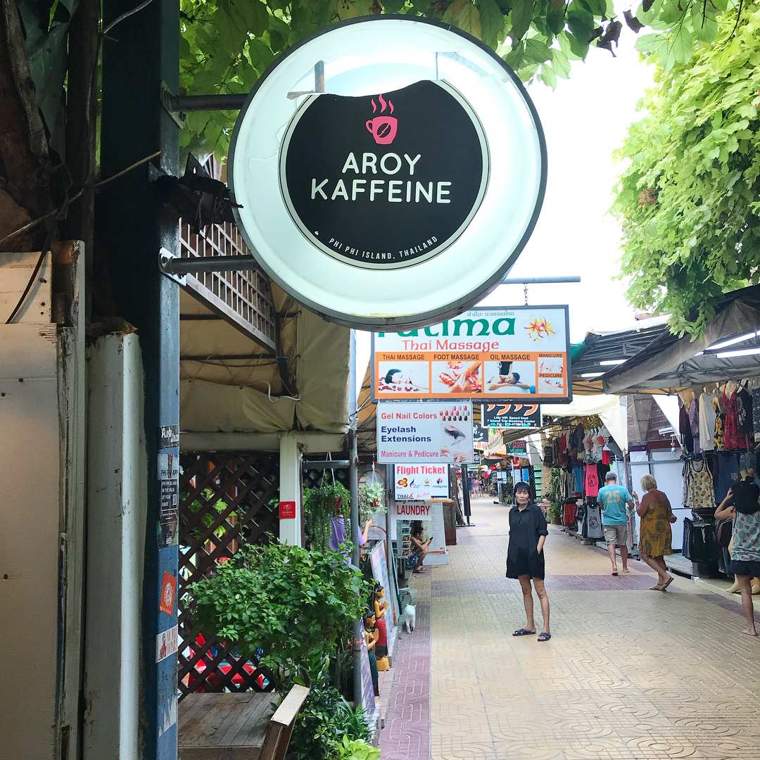 Aroy Kaffeine in Koh Phi Phi