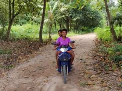 Scooter Rijden Op Koh Yao Yai