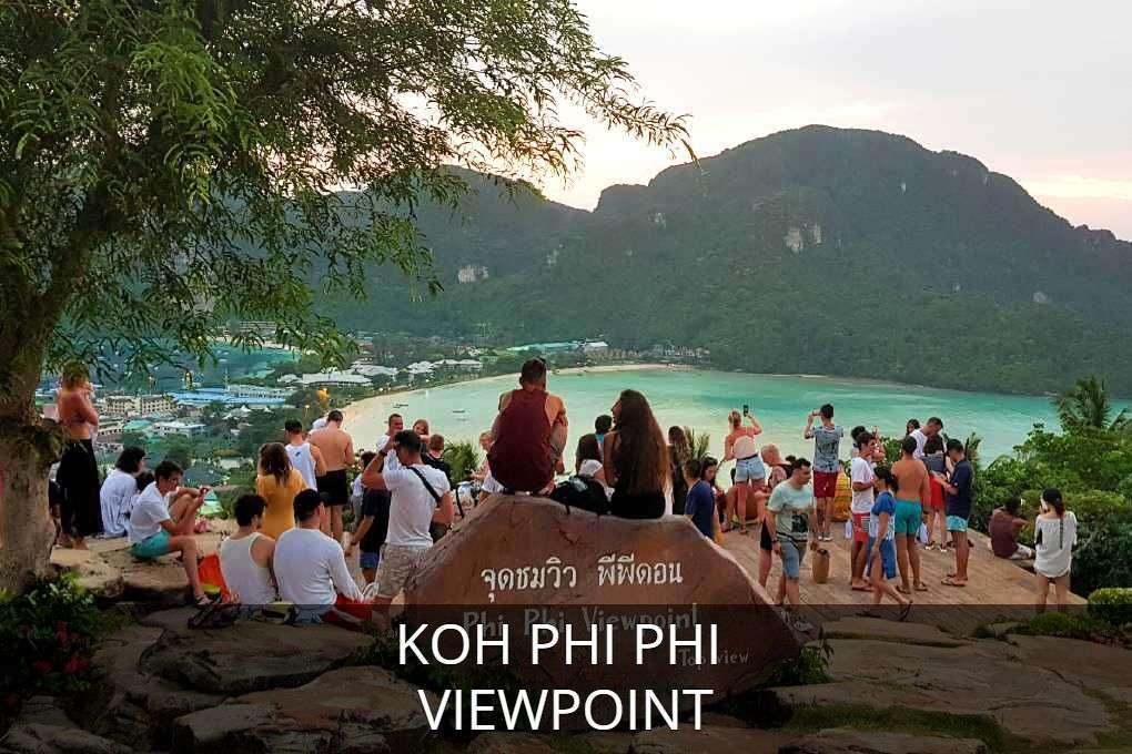 Lees hier alles over het Viewpoint op Koh Phi Phi