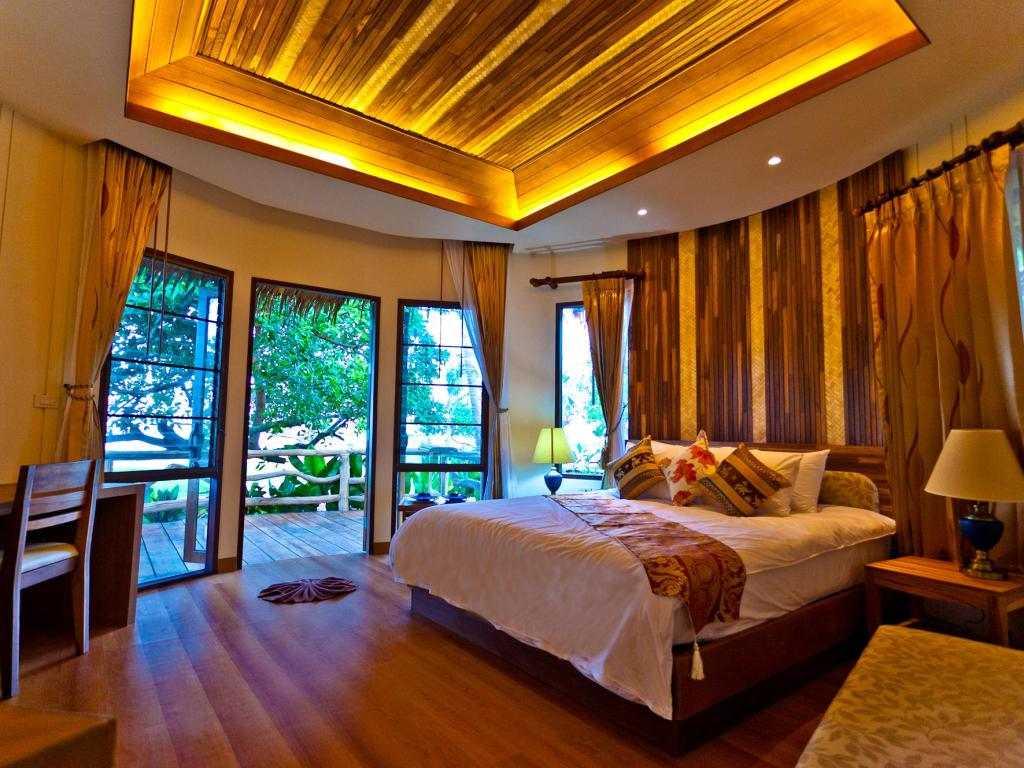 Binnen in de bungalow van Bestview op Koh Yao Yai
