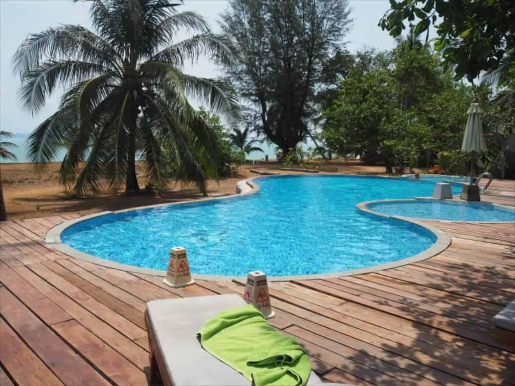 Het zwembad van Bestview op Koh Yao Yai