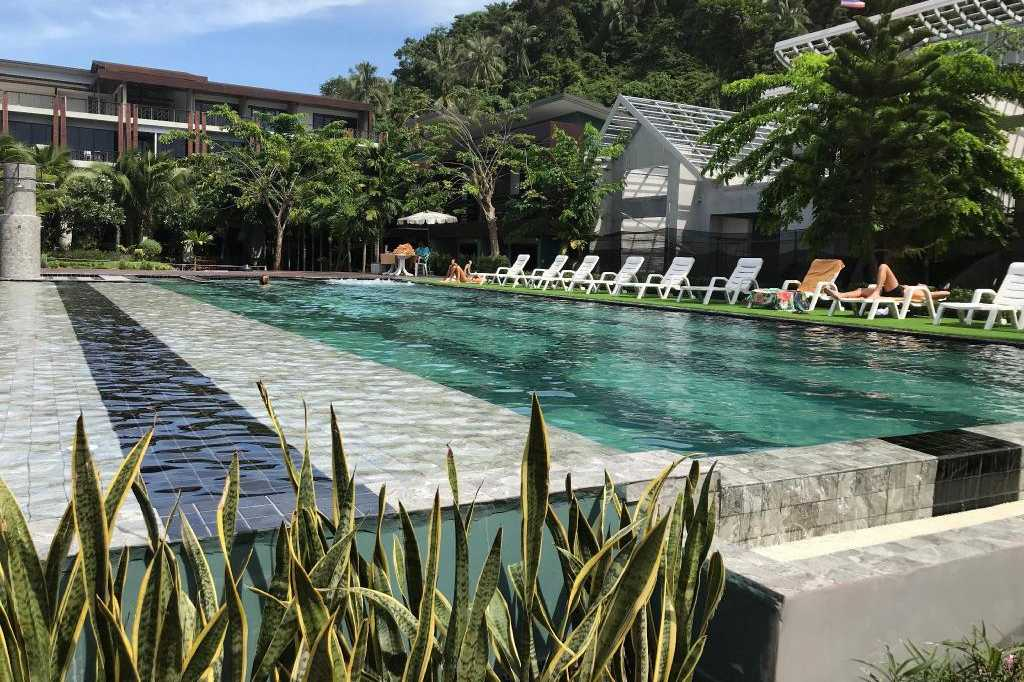 The pool area of the ChaoKoh Phi Phi Hotel & Resort on Koh Phi Phi