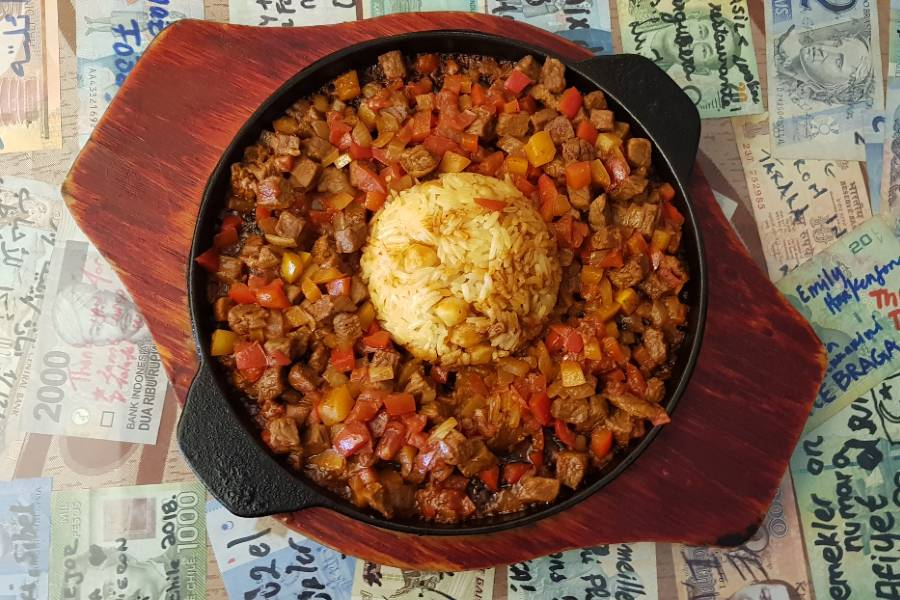 A Turkish dish at Efe Mediterranean Cuisine at Koh Phi Phi