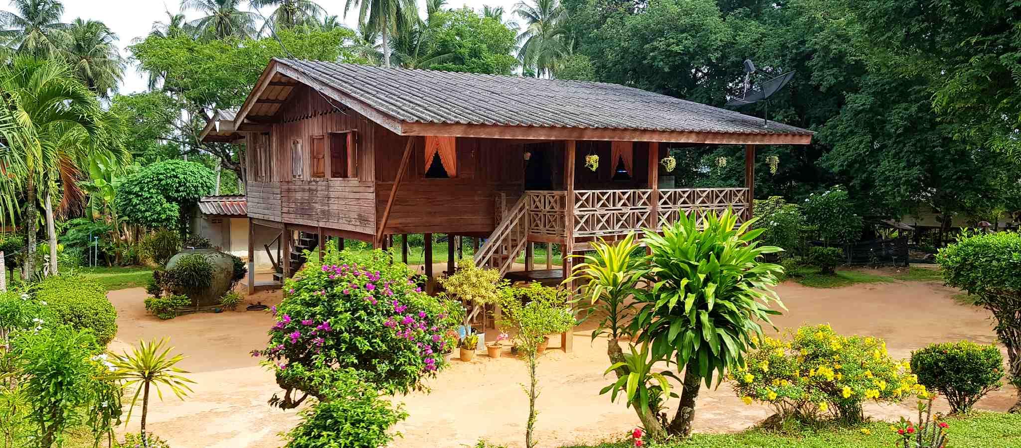 Koh Yao Yai traditioneel houten huis