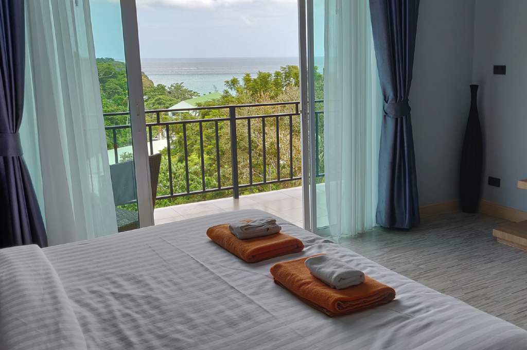 Room with sea view (U Rip resort - The best hotels on Koh Phi Phi)