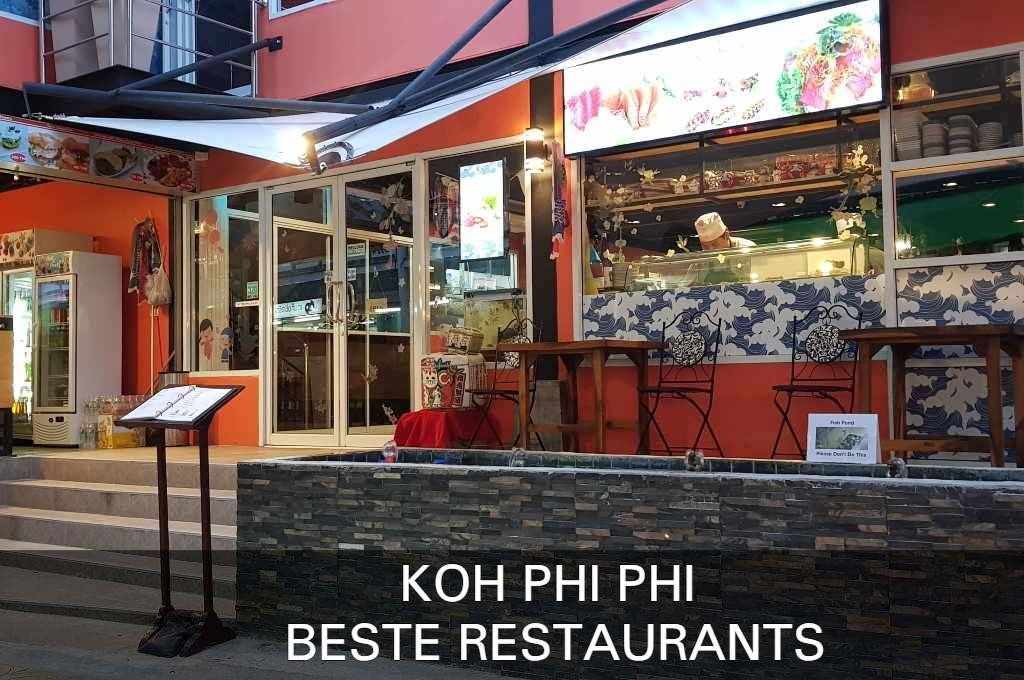 Click here if you want to see the best restaurants of Koh Phi Phi