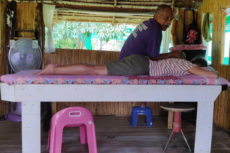 De massage van Dr Saad in Khoh Yao Yai