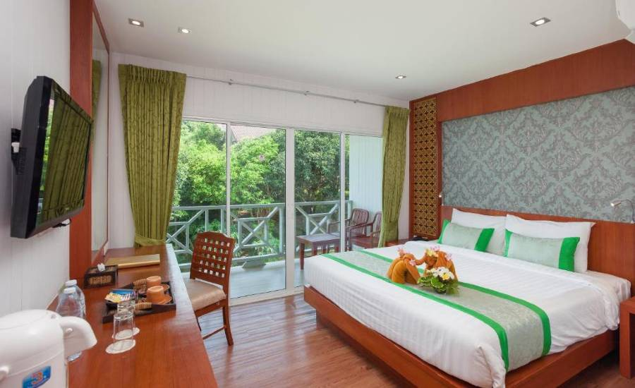 The room of the Phi Phi Natural Resort on Koh Phi Phi