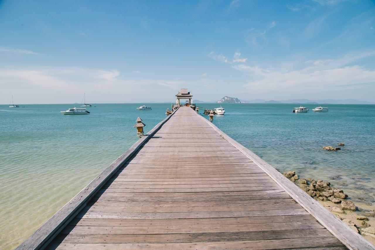 Jetinn Teppan Pier van het Santhiya Resort