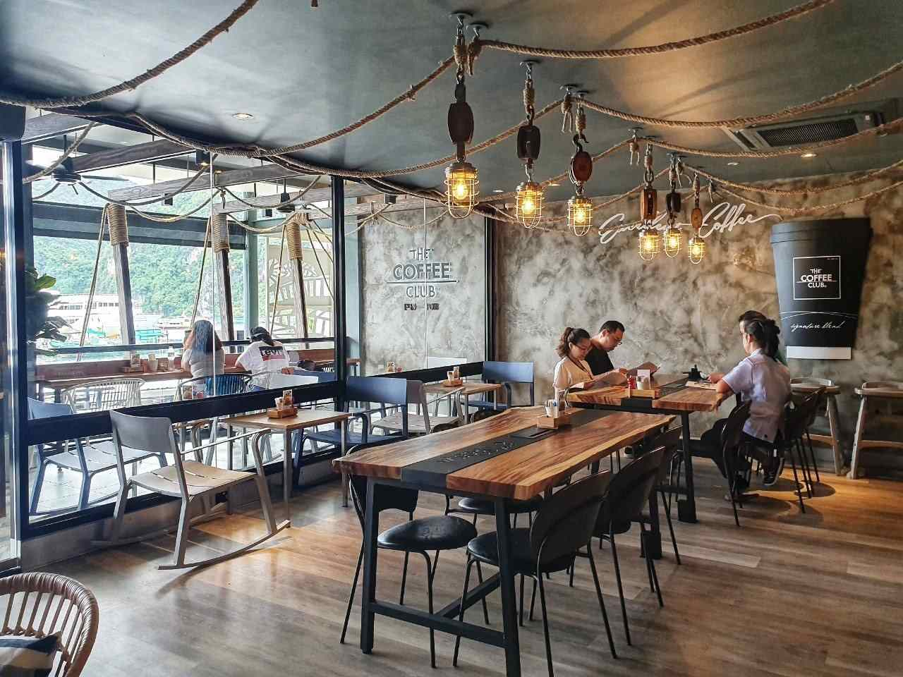 The Coffee Club Koh Phi Phi inside