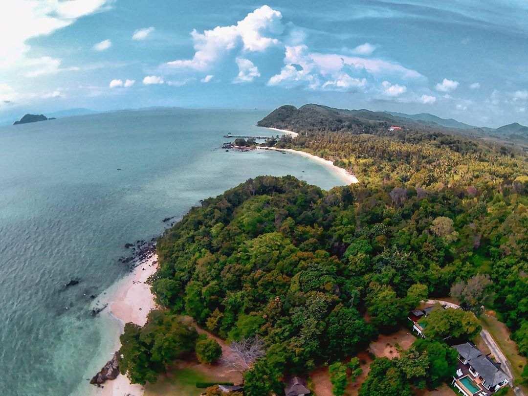 Small beautiful bays on Koh Yao Yai