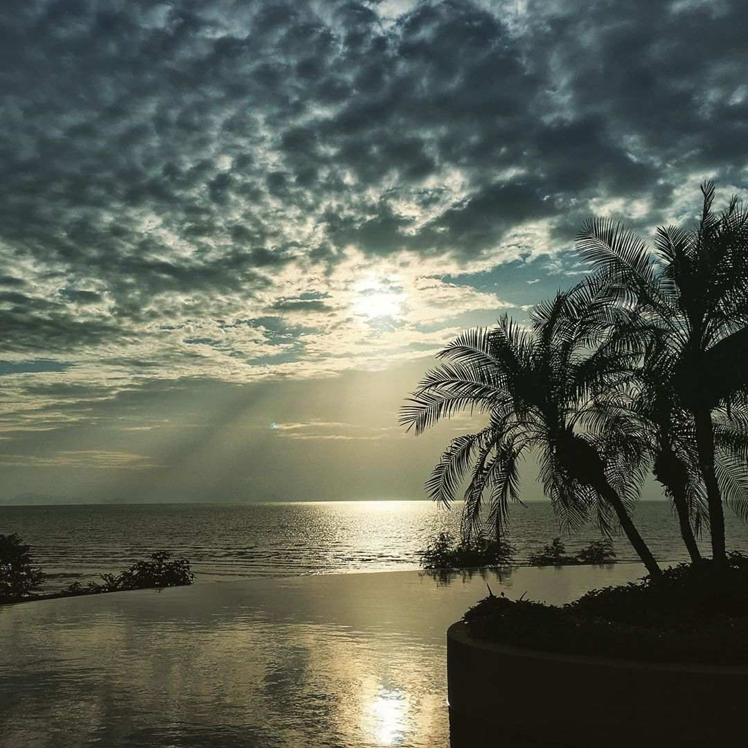 Mooie lucht op koh yao yai