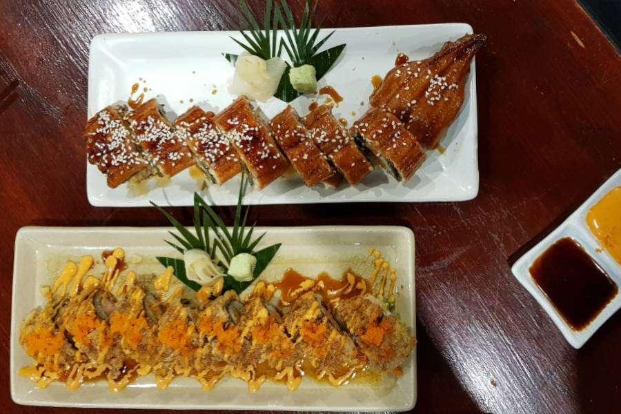 Maki Sushi Rolls bij P.P. Wang Ta Fu op Koh Phi Phi