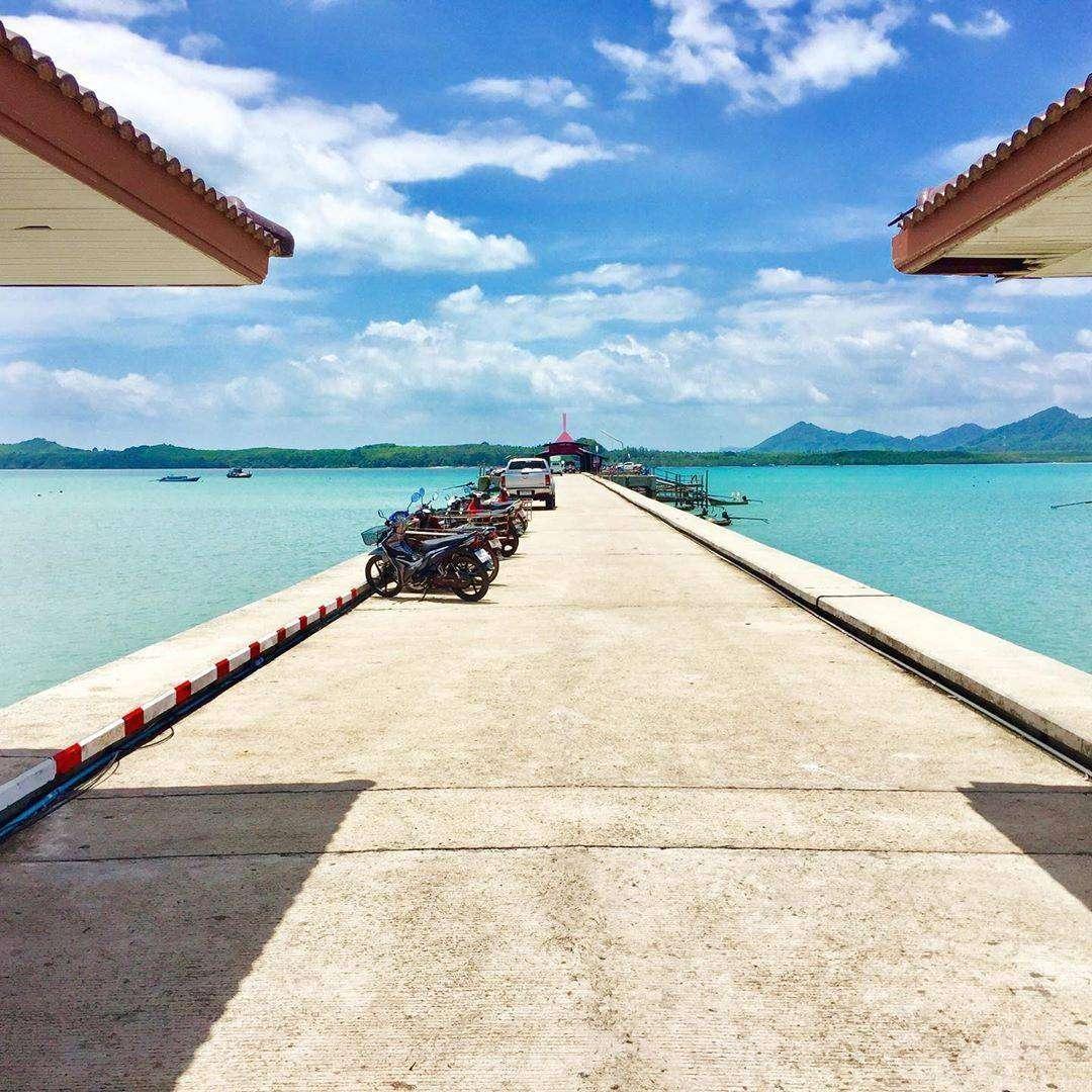 Chong Lard Pier - de hoofdpier van Koh Yao Yai