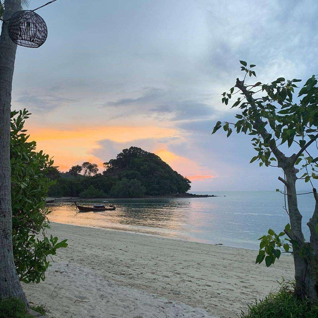 Beautiful beach of GLOW Elixir on Koh Yao Yai